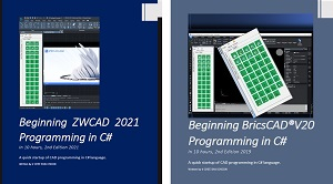 Bricscad programming in C#