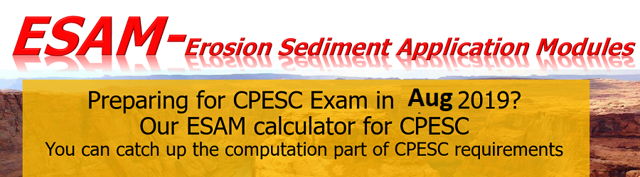 """ESAM Calculator for CPESC"""